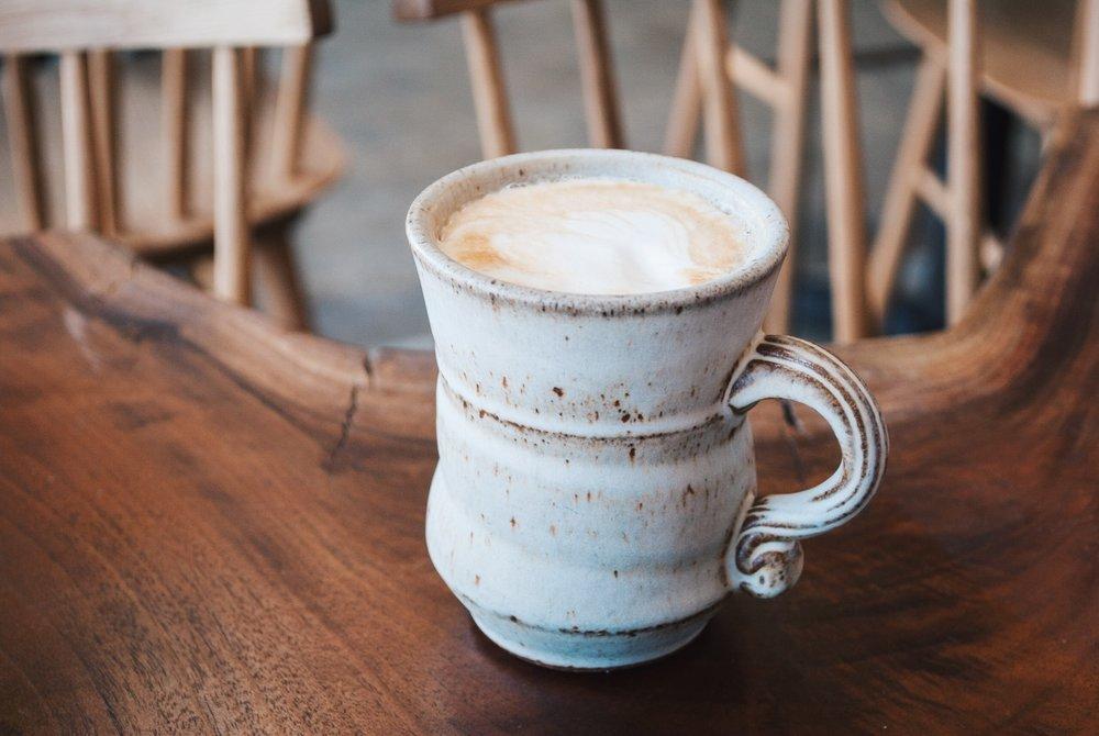 Cappuccino at Lodge Bread Co., Culver City, CA