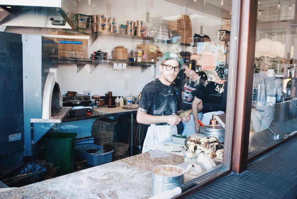 Alexander Phaneuf at Lodge Bread Co., Culver City, CA