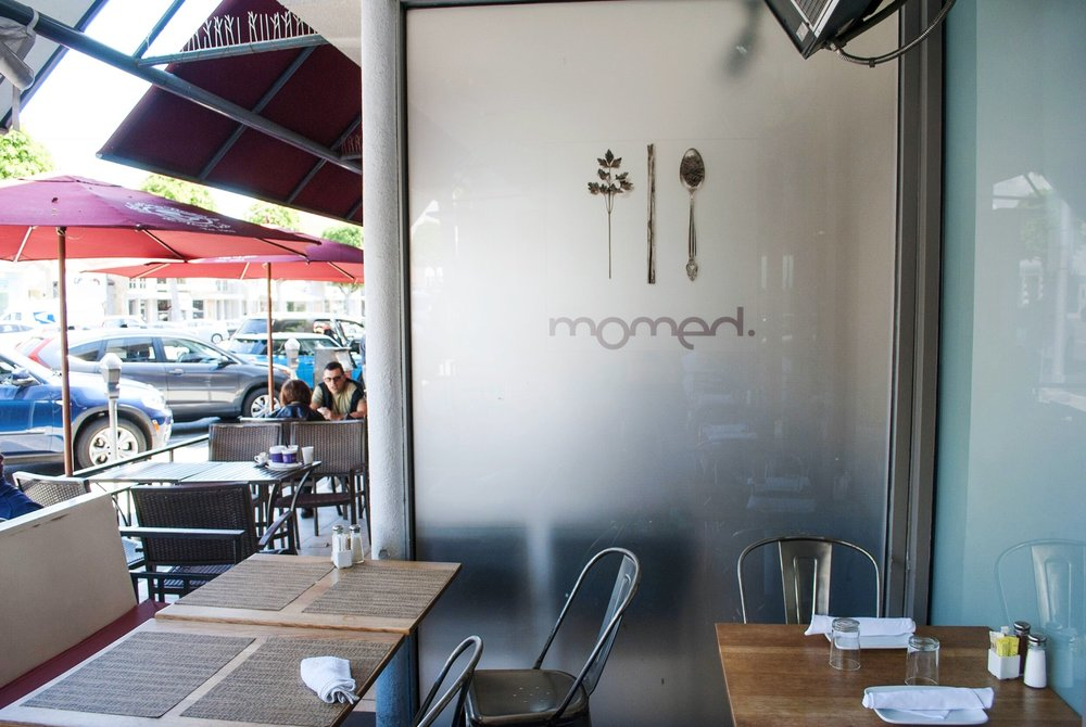 Patio Seating at Momed, Beverly Hills - Brunchographers