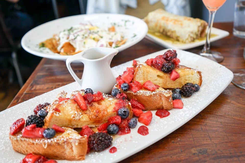 French Toast at The Rockefeller, Manhattan Beach, CA