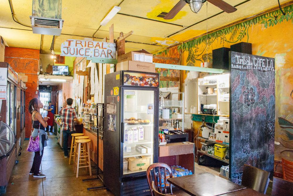 Inside Tribal Café, Los Angeles, CA