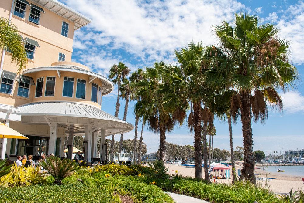 Beachside Restaurant & Bar at Mother's Beach, Marina del Rey, CA