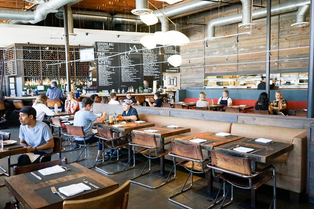 Akasha Restaurant, Culver City, CA