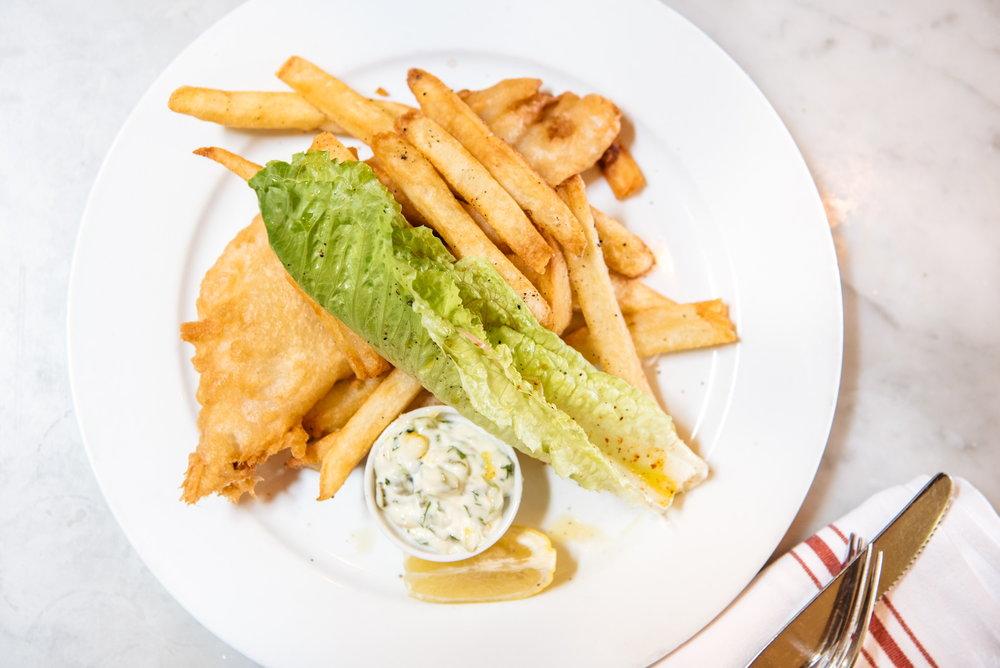 Fish & Chips at The Pikey, Los Angeles, CA