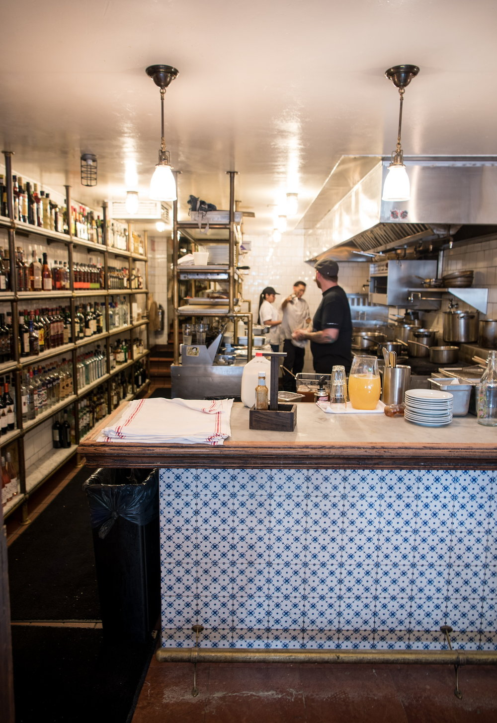 Open Kitchen at The Pikey, Los Angeles, CA