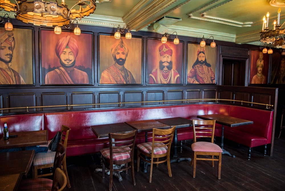 The Maharaja Room at The Pikey, Los Angeles, CA