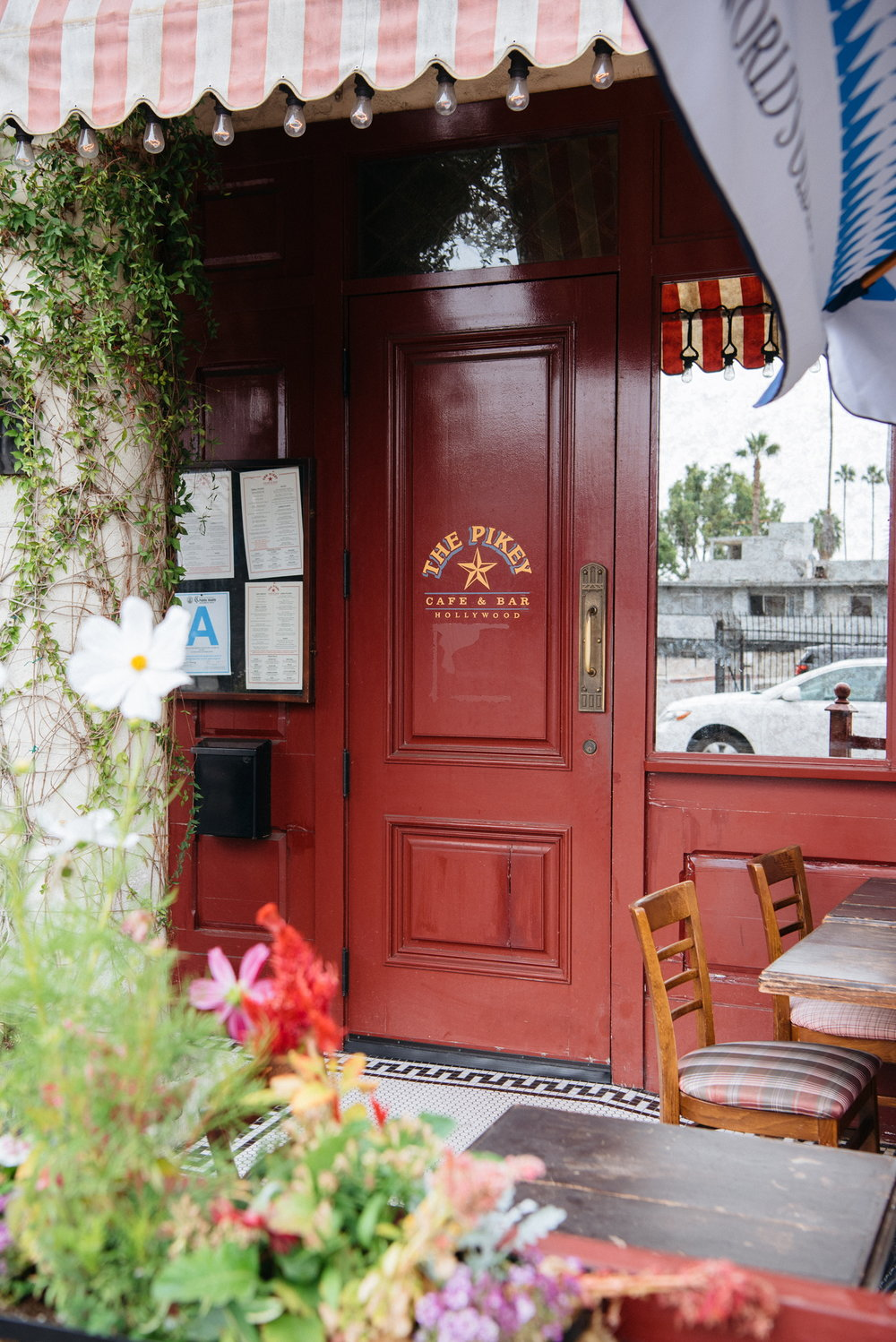 Entrance to The Pikey, Los Angeles, CA
