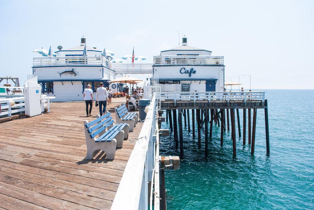 Malibu Farm Pier Café, Malibu