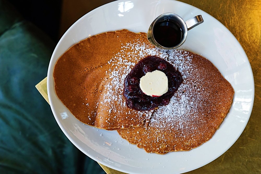 Buckwheat Pancakes at Best Girl, Los Angeles, CA