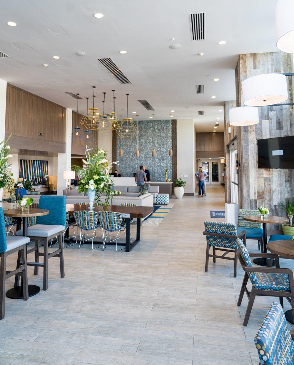 The Lobby at Inn at the Pier, Pismo Beach, CA