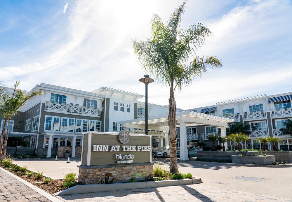 Outside Inn at the Pier, Pismo Beach, CA