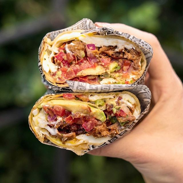 #tbt to this beautiful breakfast burrito on #nationalburritoday! Possibly the best holiday of the year, what do you think? . . .  Bonjour, beautiful Brisket Breakfast Burrito. ⠀ 📍 @coffeecommissary | Burbank, CA⠀ 🌯 Brisket Burrito - rubbed brisket, two sunny eggs, pico de gallo, avocado, cheddar w/ chips + salsa⠀ 👍🏼 Rumor on the street was that Commissary makes a killer breakfast burrito - and the rumors were true! We loved how tender the meat was in this little beauty, and the tortilla was perfection. They've also got a vegetarian version or a pork belly option, so there's something for almost everyone! ⠀ .⠀ .⠀ .⠀ .⠀ .⠀ .⠀ .⠀ .⠀ .⠀ .⠀ .⠀ .⠀ #breakfastburrito #burrito #brisketburrito #coffeecommissary #burbank #avocado #🌯 #weekdaybrunch #burbankbrunch⠀ #infatuationla #eeeeeats #foodporn #foodphotography #thefeedfeed @thefeedfeed #foodbeast #tastingtable #breakfast #thrillistla #foodstagram #huffposttaste #brunchographers #brunchographersla