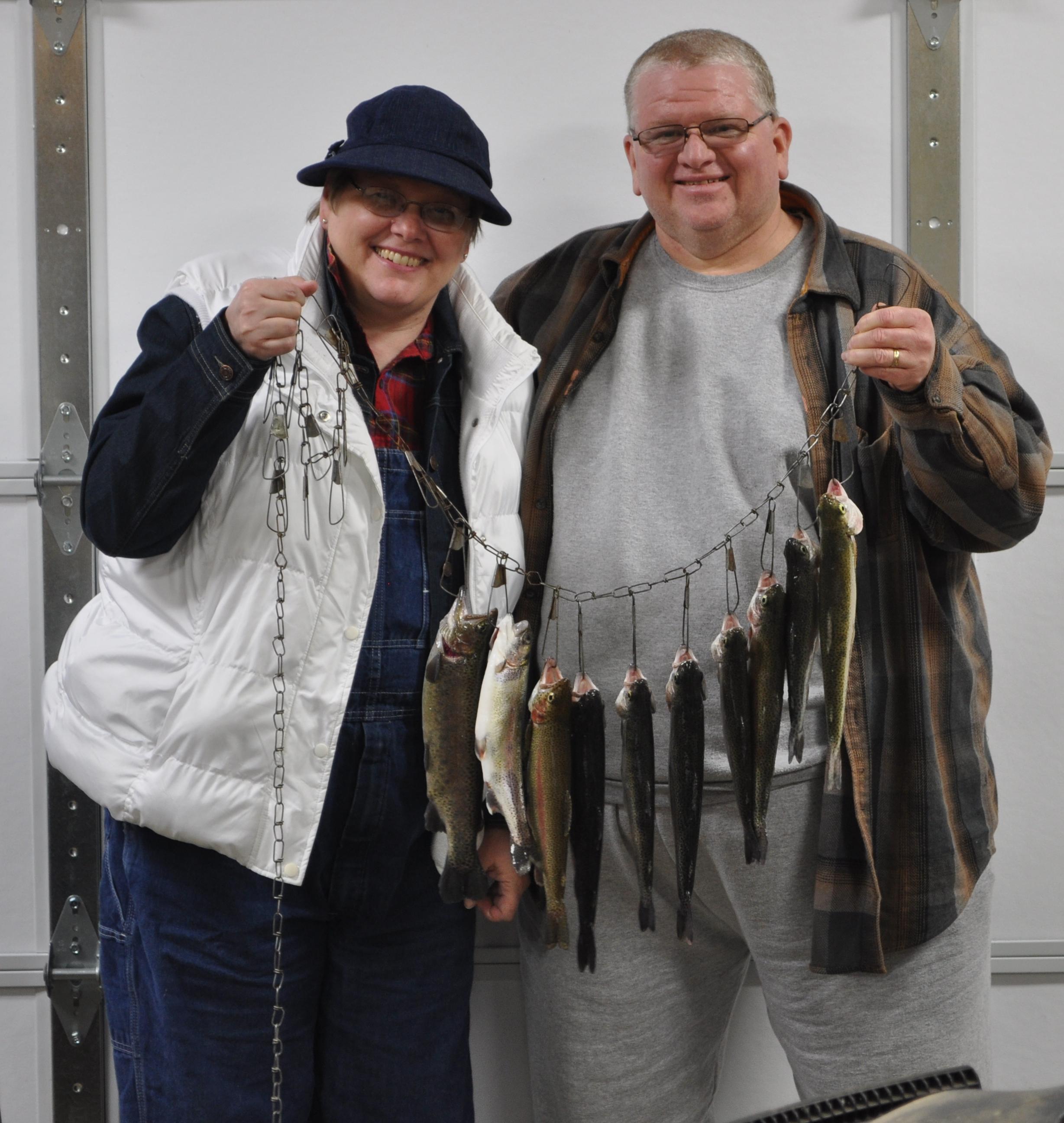 Happy Couple, Many Fish!