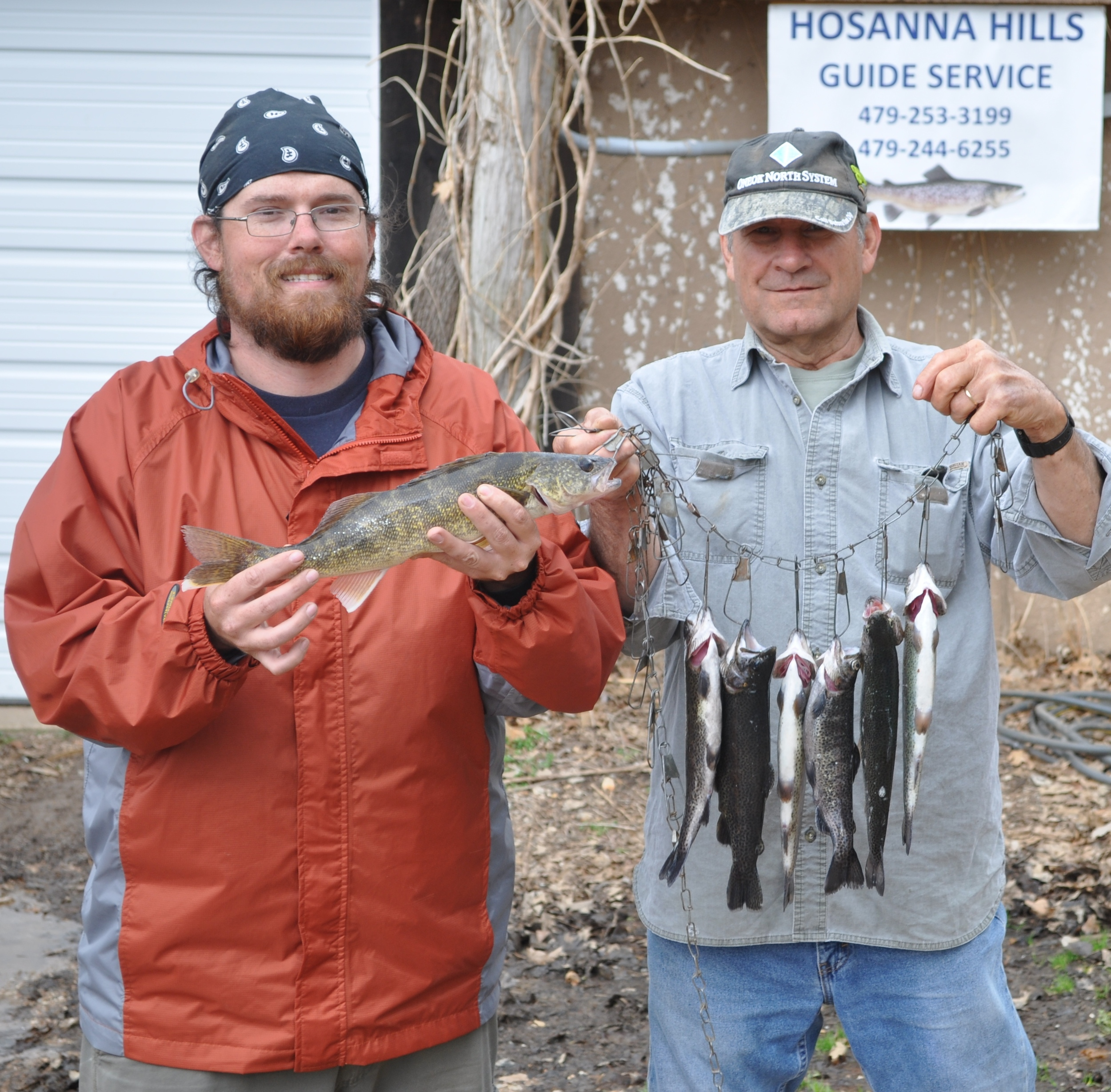 the walleye and the trout