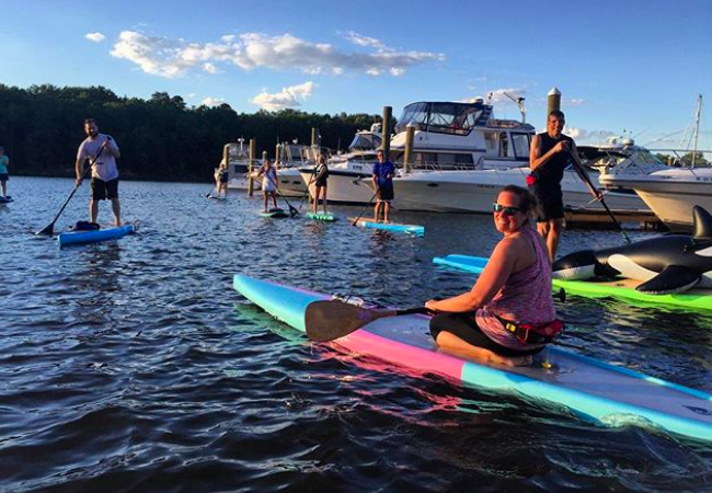 paddleboard class annapolis severna park