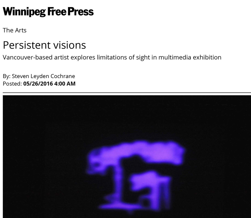 press - My exhibition