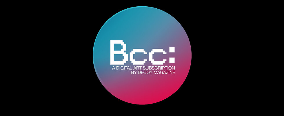 digital art commission - Decoy Magazine has commissioned a digital artwork which will be exclusively available to all subscribers.