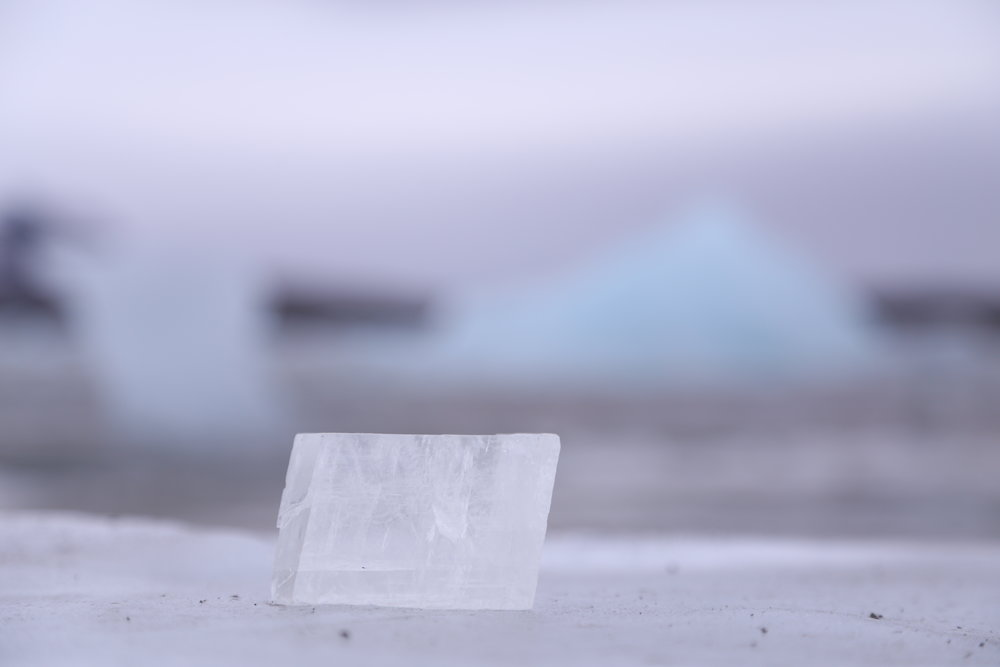 comparative studies between calcite and icebergs, fig 1