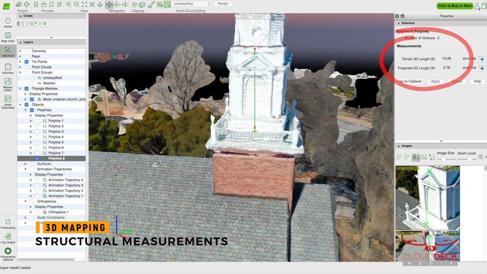 3D Structural Measurements