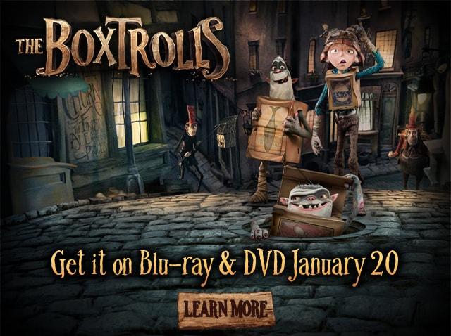 Box Trolls Movie Campaign  Concept, design