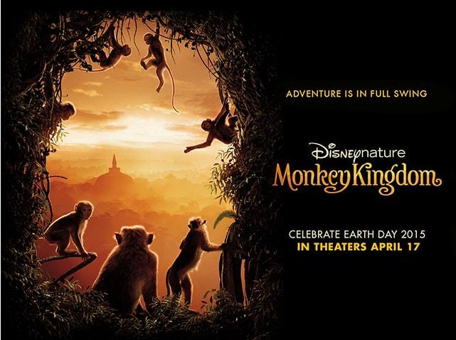 Monkey Kingdom Movie Campaign  Concept, design
