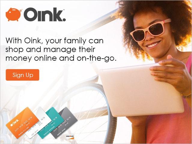 Oink Card Campaign  Concept, design