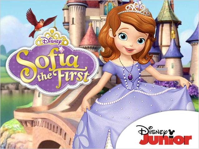 Disney Sofia the First Summer Campaign  Concept, design