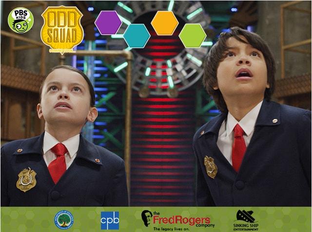PBS Odd Squad Campaign  Concept, design