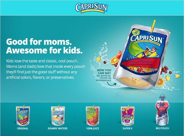 Capri Sun Campaign  Concept, design
