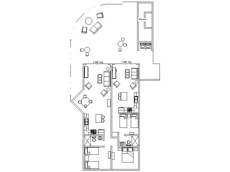 Ground floor Villa layout