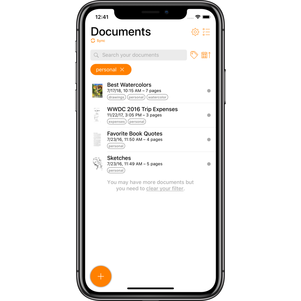 Organize like a pro - Archive your documents in Genius Scan, group them with tags and use the search to quickly find the ones you need.Optionally, you can subscribe to Genius Cloud to securely backup and sync your scans.