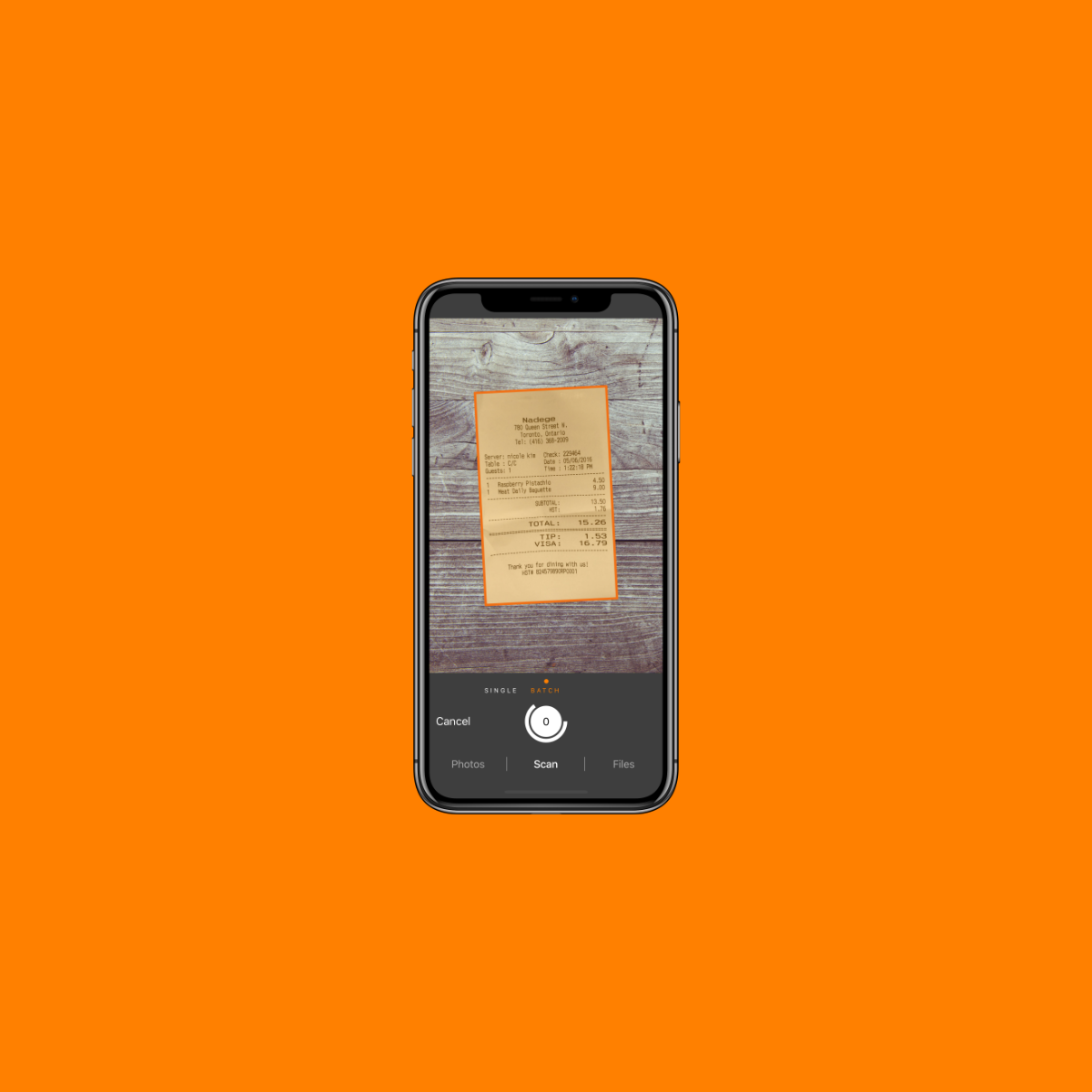 Genius Scan - A scanner app in your pocket — The Grizzly Labs