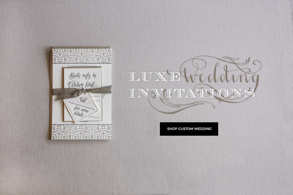 The happy envelope theletterpressluxeweddinginvitationg greeting cards reheart Gallery