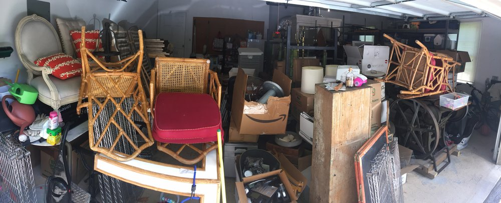 Yes, this is our garage, and yes this is only half the madness.