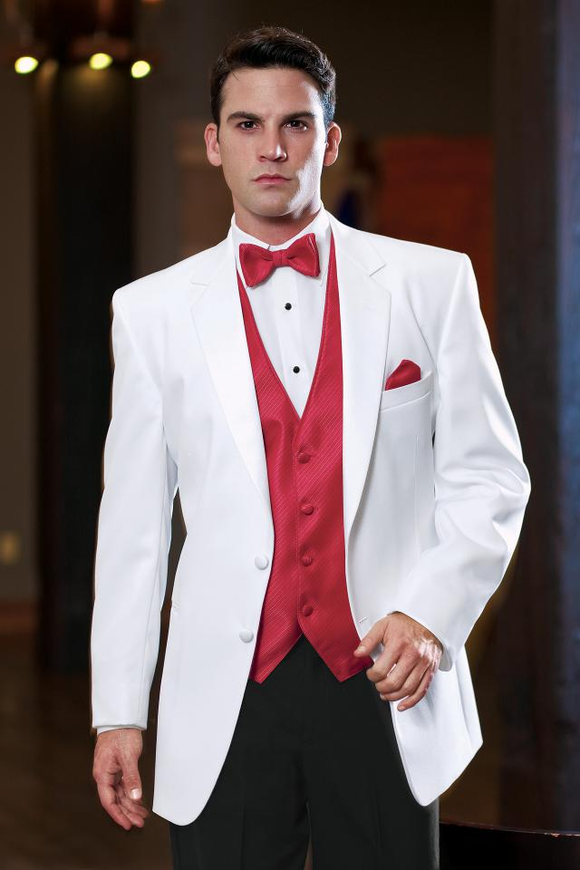 Troy (White) — Tuxedos by American Male