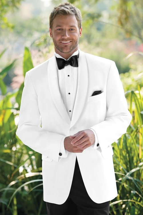 White Shawl — Tuxedos by American Male