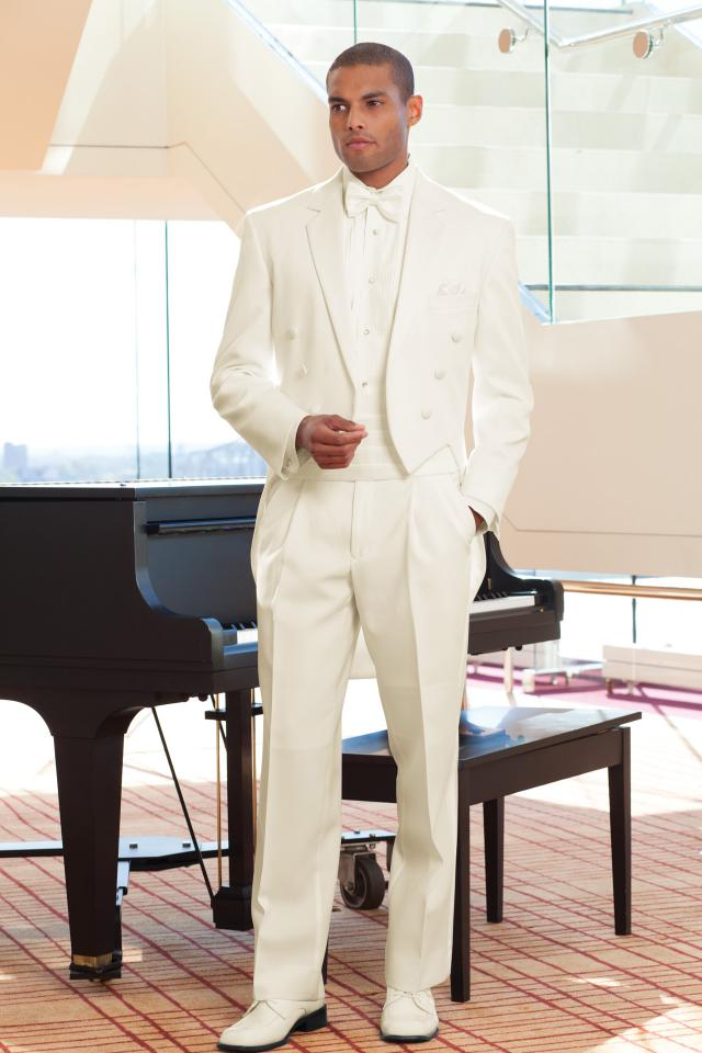 Classic Notch Fulldress (Ivory) — Tuxedos by American Male