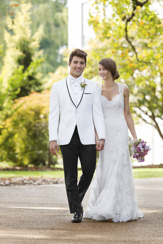 View White & Ivory Tuxedos