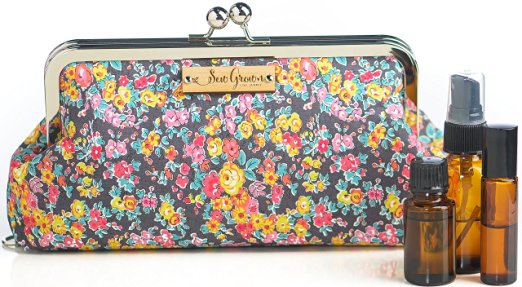 Copy of Sew Grown, Purple Floral EO Purse
