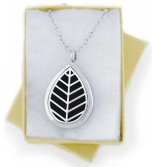 Diffuser Necklace, Leaf