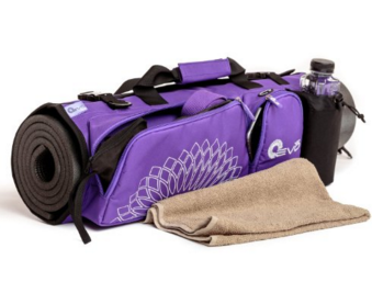 Yoga Duffle, Purple
