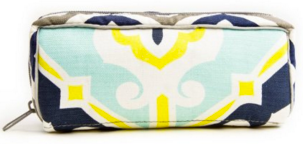 Copy of EO Purse, Turq, Yellow, Navy