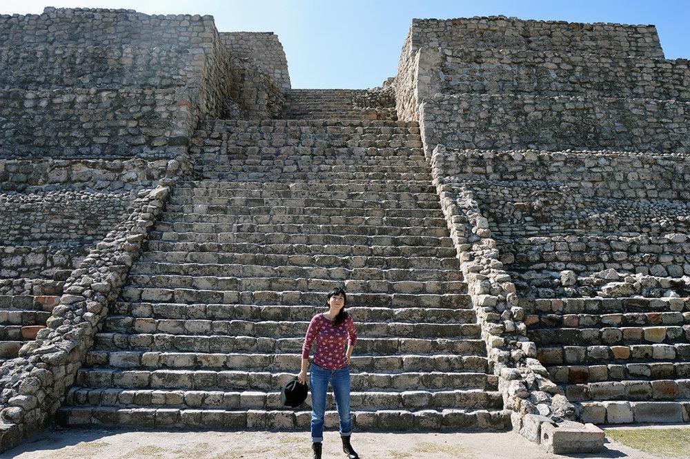 At Cañada de la Virgen, Guanajuato Mexico