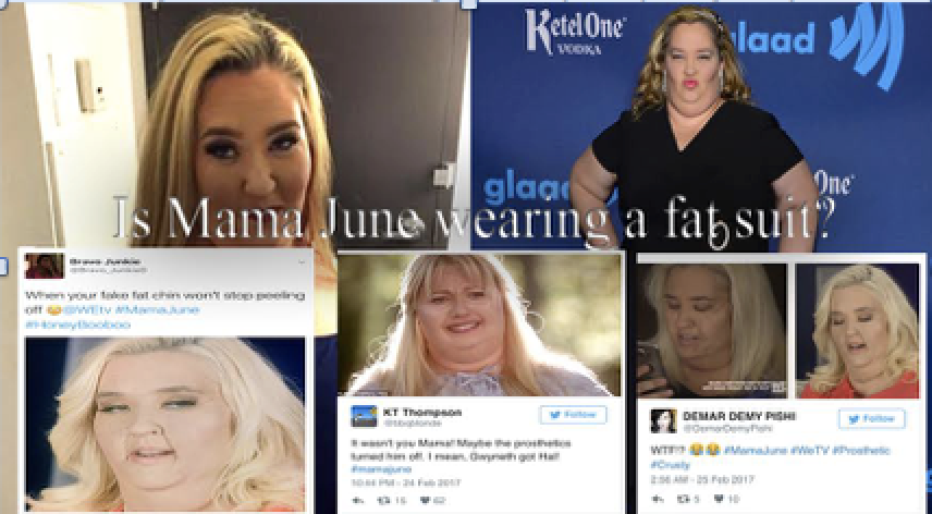 My fellow omgossipers it's time to weigh in --  FAT SUIT OR NAH?  --  Will you guys be tuning into Mama June: From Not To Hot?!?