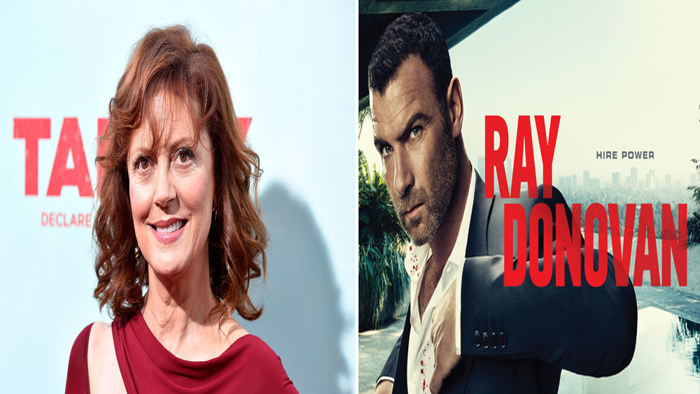 Who else is excited about Susan Sarandon joining Showtime's hit show Ray Donovan?  The seventy year old actress will appear in a season-long guest arc as Samantha Winslow. A strong, focused head of a motion picture studio. The award winning Hollywood fixture will definitely add something fresh to the show. Let's hope she's on team Donovan, though, we wouldn't want her to get whacked. Season 5 will air this summer. OMGOSSIPERS will you be tuning in this year for all the mayhem?