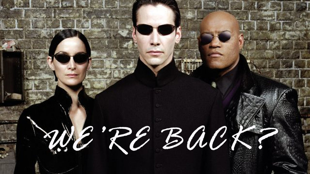 So according to the Hollywood Reporter 'The Matrix' is getting a reboot after 18 years from it's original release. So far no word if the Wachowski Sisters, or any of the main cast will be signing on to the project -- that's had the twitter-verse up in a storm.  I personally can't blame Warner Bros for wanting to recreate the nostalgia and magic from the original trilogy. The first three films grossed over a billion dollars.  Well the world's been talking. What do you OMGOSSIPERS think about the planned reboot?
