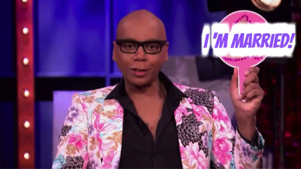 "Another celebrity said 'I Do'!! RuPaul got married to his long-time partner, Georges LeBar, who he has been with for twenty-three years! They met at a nightclub in 1994, on Georges birthday, so they wed on their twenty-third anniversary of the first time they met in January! ""We never wanted to do it,"" he added tying the knot, ""we were looking into it really for the tax breaks and financial purposes,"" he said with a laugh. OMGOSSIPERS do you like the fact that RuPaul was so secretive about his wedding?"