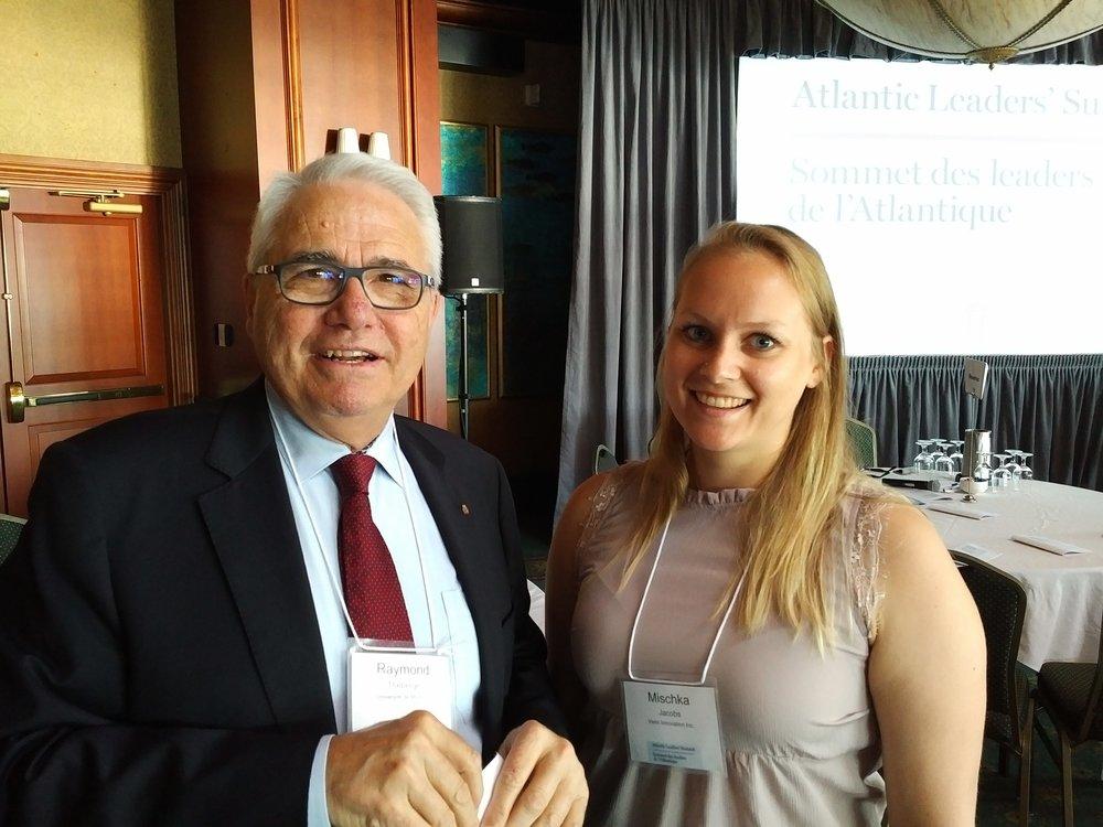 Raymond Théberge, recteur et vice-chancelier de l'Université de Moncton, a animé la présentation de l'honorable Hussen