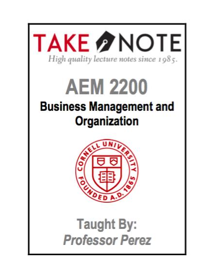 AEM 2200 - Perez