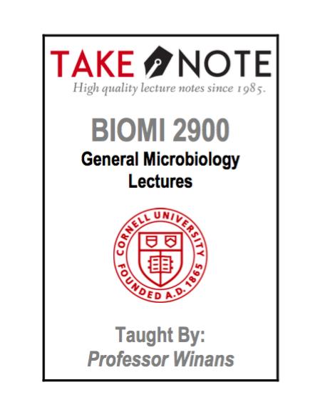 BIOMG 2900 - Winans